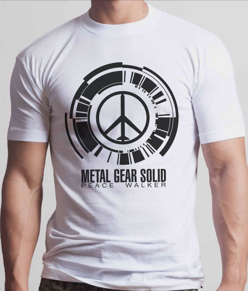 Metal Gear Solid Peace Walker Tshirt: Black Print - TshirtNow.net