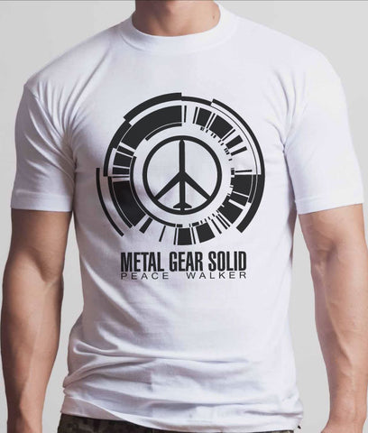 Metal Gear Solid Peace Walker Tshirt: Black Print