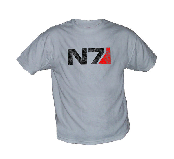 Mass Effect 2 N7 Vintage Worn Look Shirt - TshirtNow.net - 1