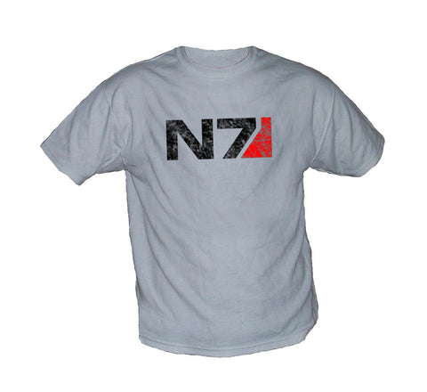 Mass Effect 2 N7 Vintage Worn Look Shirt
