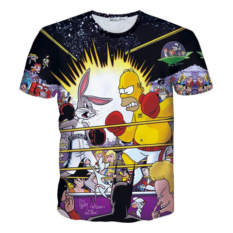 The simpsons tshirts tshirtnow for Simpsons t shirts online