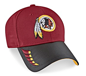 Beautiful Embroidered Logo Washington Redskins Hats