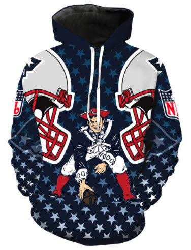 New England Patriots Throwback Allover 3D Print Hoodie – TshirtNow 9bb402282