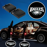 2 NFL PHILADELPHIA EAGLES WIRELESS LED CAR DOOR PROJECTORS