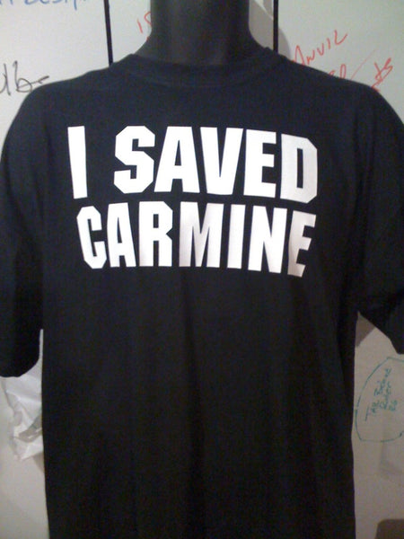 Gears of War 3 I Saved Carmine Tshirt - TshirtNow.net - 1