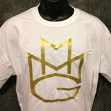 Maybach Music Group Tshirt: White Tshirt with Gold Print - TshirtNow.net - 8