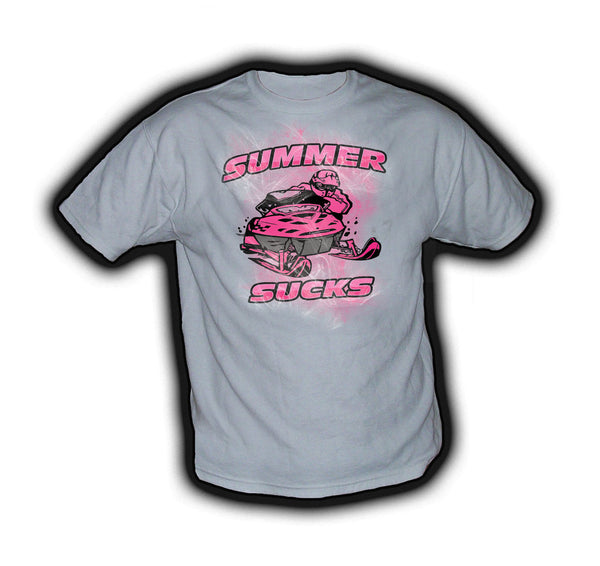 Summer Sucks Pink - TshirtNow.net