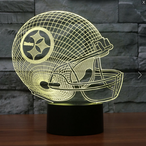 NFL PITTSBURGH STEELERS 3D LED LIGHT LAMP