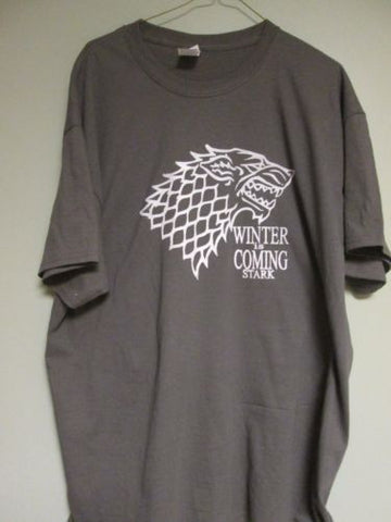 Game Of Thrones House Stark Winter Is Coming Grey Tshirt