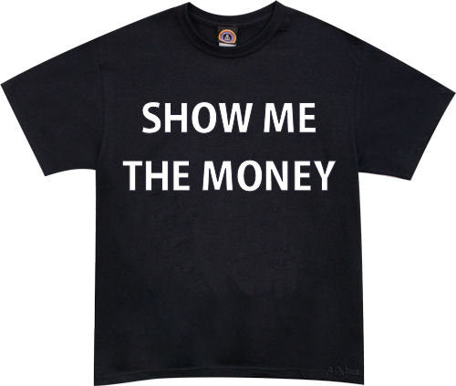 Jerry Maguire Show Me The Money Tshirt - TshirtNow.net