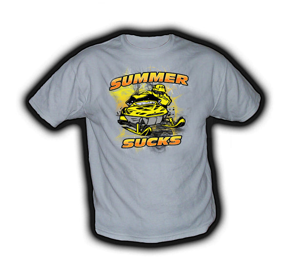 Summer Sucks Ski Doo Yellow - TshirtNow.net