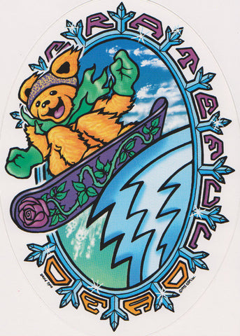 Grateful Dead Snowbear Sticker