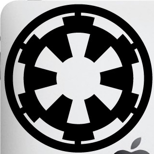 Star Wars Imperial Emblem Vinyl Die Cut Decal Sticker