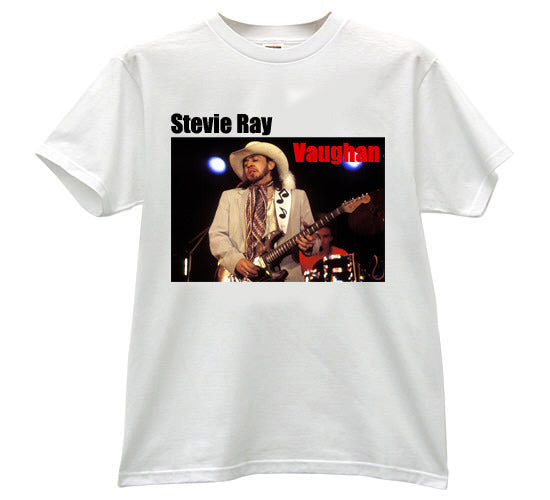 Stevie Ray Vaughan Music Note Guitar Strap Tshirt - TshirtNow.net - 1