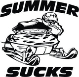 Summer Sucks Decal - TshirtNow.net - 1
