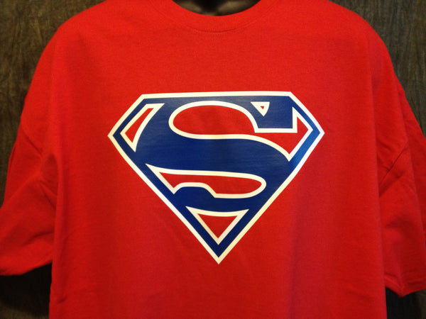 Superman Logo Variant Red Alternate-Color Superman Logo Tshirt - TshirtNow.net - 1