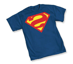Superman Bizarro Logo Royal Blue Tshirt