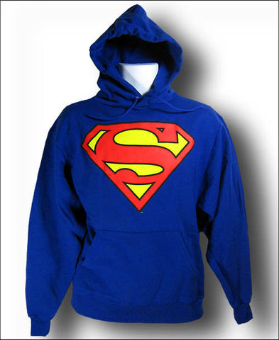 Superman Logo Royal Blue Hoody Hoodie