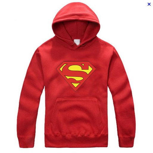 Superman Logo Red Hoody Hoodie - TshirtNow.net