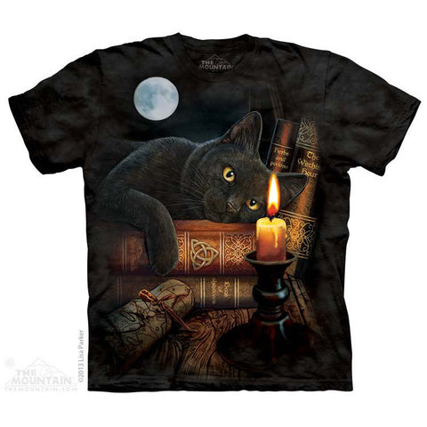 3D Allover print Black Cat The Witching Hour T-Shirt