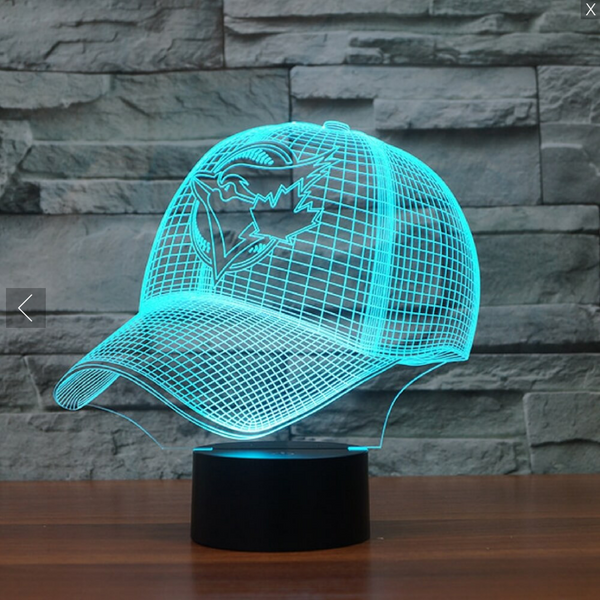MLB BALTIMORE ORIOLES 3D LED LIGHT LAMP