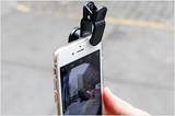 3 in 1 Universal Fish Eye & Macro Clip Camera Lens Kit for iPad iPhone 7 6 5 Samsung Blackberry HTC and Most smartphones
