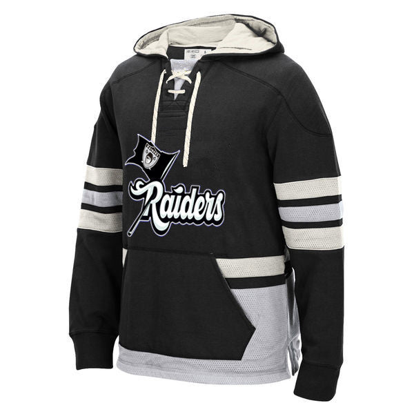 Los Angeles Raiders Laced Hockey style Hoodie Sweatshirt