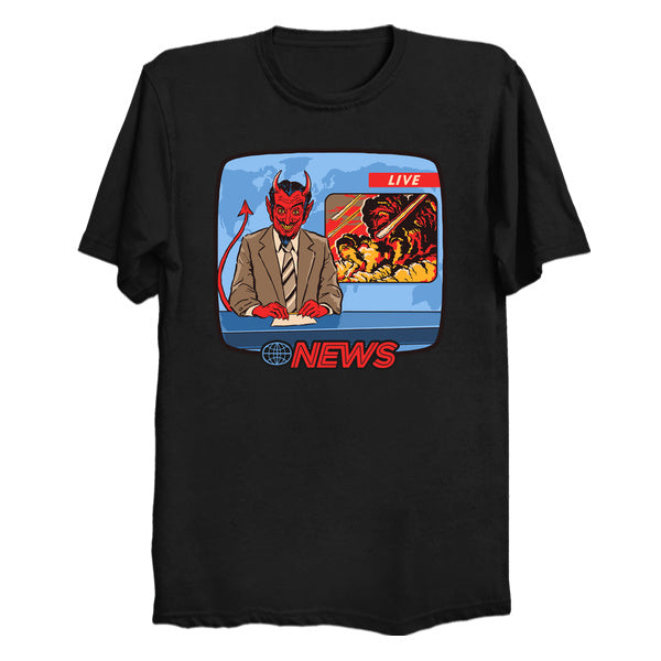 Devil's Newscast Tshirt