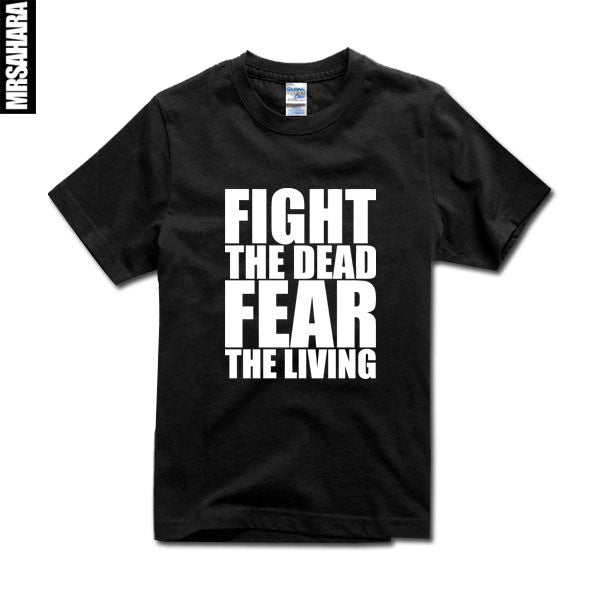 The Walking Dead Fight The Dead Fear The Living T-Shirt - TshirtNow.net - 7