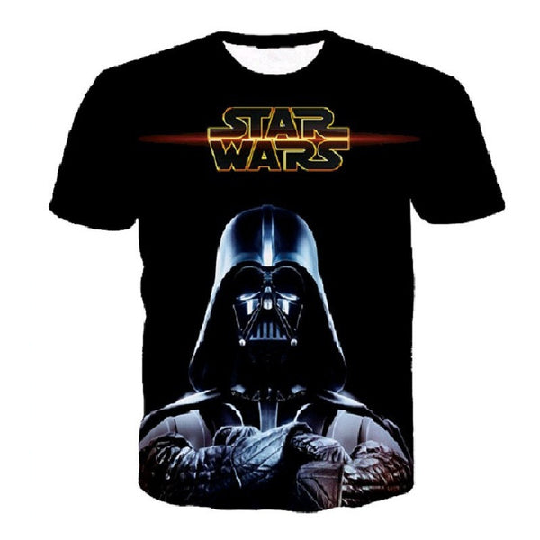 Star Wars Allover 3D Print Performance Tshirts - TshirtNow.net - 7