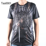 Game Of Thrones Allover 3D Oversize Print Tshirts - TshirtNow.net - 5