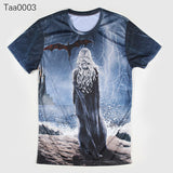 Game Of Thrones Sansa Stark Allover 3D Print Tshirt - TshirtNow.net - 5