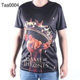 Game Of Thrones Allover 3D Oversize Print Tshirts - TshirtNow.net - 8
