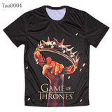 Game Of Thrones Crown Held Aloft Allover 3D Print Tshirt - TshirtNow.net - 5
