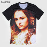 Game Of Thrones Sansa Stark Allover 3D Print Tshirt - TshirtNow.net - 4