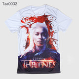 Game Of Thrones Sansa Stark Allover 3D Print Tshirt - TshirtNow.net - 8