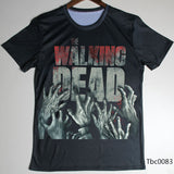 The Walking Dead Zombie Hands Logo Oversize Print T-Shirt - TshirtNow.net - 2