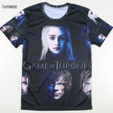 Game Of Thrones Faces Allover 3D Print Tshirt - TshirtNow.net - 3