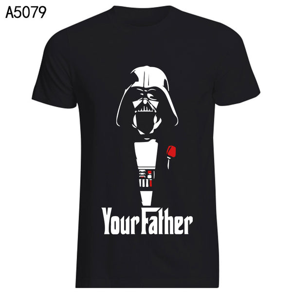 Star Wars Darth Vader Your Father The Godfather Spoof Tshirt - TshirtNow.net - 2