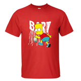 The Simpsons Bart Simpson Spray Paint Tagging Tshirt - TshirtNow.net - 6