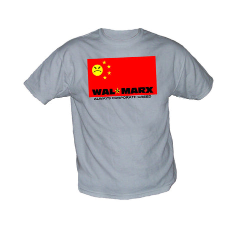 Wal-Marx Flag Anti Wal Mart Shirt
