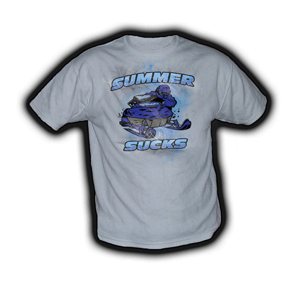 Summer Sucks Blue - TshirtNow.net