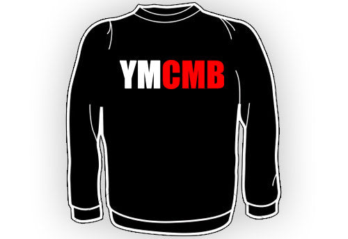 Ymcmb Longsleeve Tshirt: Black With Red & White Print - TshirtNow.net - 1