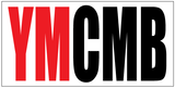 "YMCMB Decal: 3.75"" x 7.5"" Red & Black Print on White Background Vinyl - TshirtNow.net - 2"