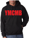 Ymcmb Hoodie: Black With Red Print - TshirtNow.net - 1