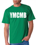 Ymcmb Tshirt: Kelly Green With White Print - TshirtNow.net - 1