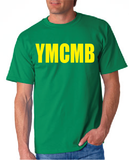 Ymcmb Tshirt: Kelly Green With Yellow Print - TshirtNow.net - 1