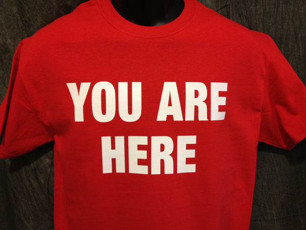 You Are Here Tshirt, Stargate Universe - TshirtNow.net - 1