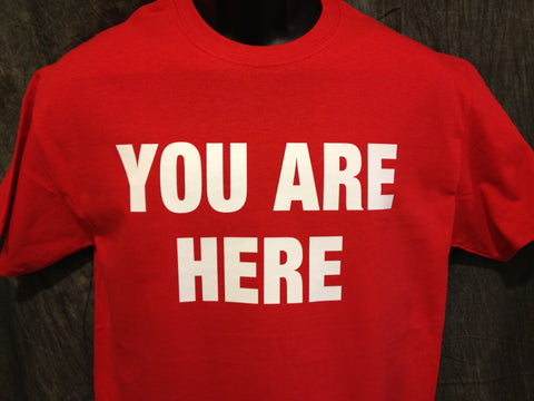 You Are Here Tshirt, Stargate Universe