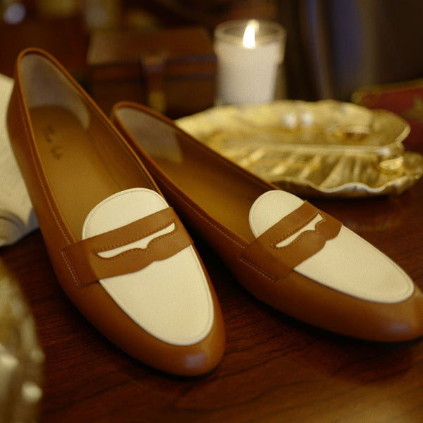 British Classical Brown Loafer